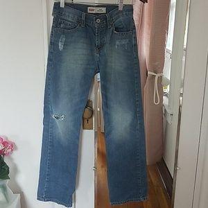 Levi's jeans 514 TM Straight,.size 26, blue